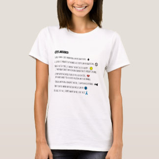 Chronische Ermüdungs-Syndrom-Durchschnitte… T-Shirt