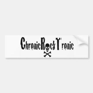 Chronischer Felsen Tronic Gang Autoaufkleber