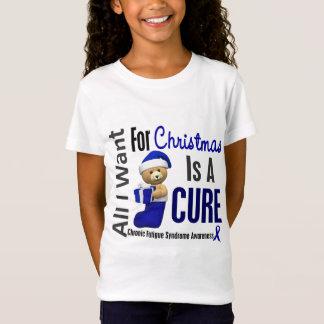 Chronisches Ermüdungs-Syndrom des Weihnachten2 T-Shirt