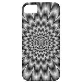 Chrysantheme im Schwarzweiss-Kasten Schutzhülle Fürs iPhone 5