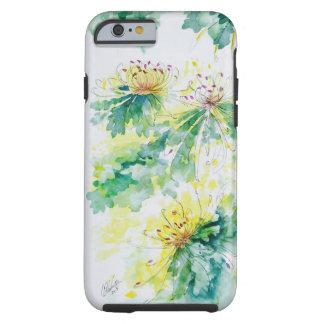 Chrysantheme iPhone Fall Tough iPhone 6 Hülle