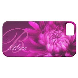Chrysantheme personalisierter iphone Fall iPhone 5 Etui
