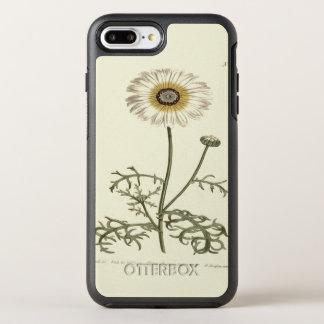 Chrysantheme-Tricolor gelbe Illustration OtterBox Symmetry iPhone 8 Plus/7 Plus Hülle