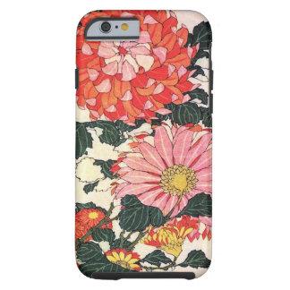 Chrysantheme und Bremse, Katsushika Hokusai Tough iPhone 6 Hülle