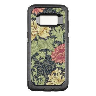Chrysantheme-Vintage Blumenkunst Williams Morris OtterBox Commuter Samsung Galaxy S8 Hülle