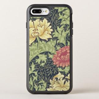 Chrysantheme-Vintage Blumenkunst Williams Morris OtterBox Symmetry iPhone 8 Plus/7 Plus Hülle