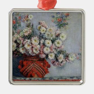 Chrysanthemen Claude Monets |, 1878 Silbernes Ornament