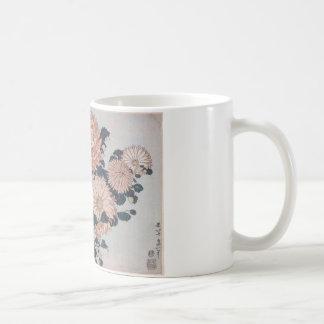 Chrysanthemen und Bremse durch Katsushika Hokusai Kaffeetasse