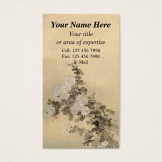 Chrysanthemen Visitenkarte