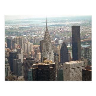 Chrysler-Gebäude Midtown Manhattan New York Postkarte