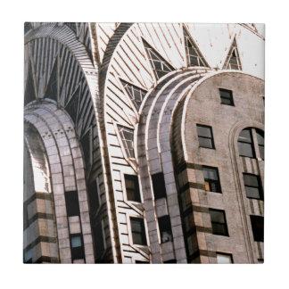 Chrysler-Gebäude: Nahe hohe Ansicht Fliese