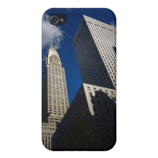 Chrysler-Gebäude und Socony Mobil Gebäude, NYC iPhone 4 Cover