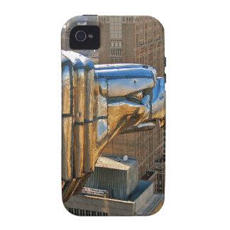 Chrysler-Gebäude: Wasserspeier iPhone 4 Case