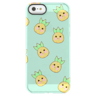 Chubbi Ananas-Muster (textless) Permafrost® iPhone SE/5/5s Hülle