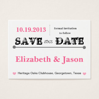 Chubby Save the Date Karten