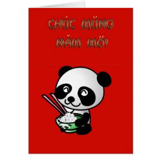 Chuc Mung Nam vietnamesisches neues Jahr-Mondjahr Karte
