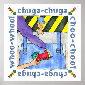 chuga chuga choo choo! Zug Poster