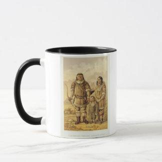 Chukchi Nomaden, graviert von Winckelmann und von Tasse