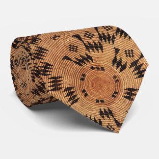 Chumash Ureinwohner-Kunst Bedruckte Krawatten