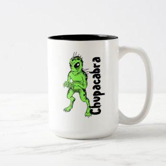 Chupacabra-Kaffee-Tasse Zweifarbige Tasse