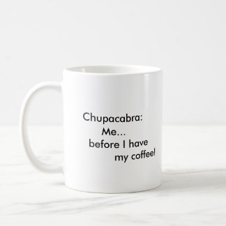 Chupracabra Schale Kaffeetasse