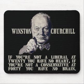 Churchill auf Konservativen und Liberalen Mousepad