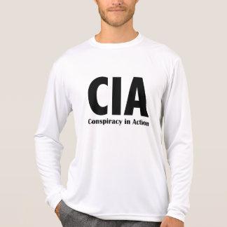 CIA-Verschwörung im Aktions-T - Shirt