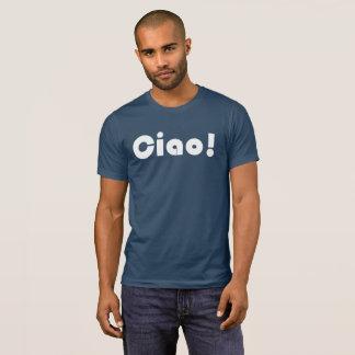 Ciao-Männer Spitzen T-Shirt