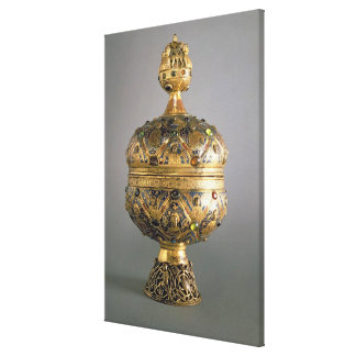 Ciborium, gemacht in Limoges von G. Alpais für das Galerie Falt Leinwand