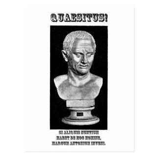 Cicero wollte (Latein) Postkarte