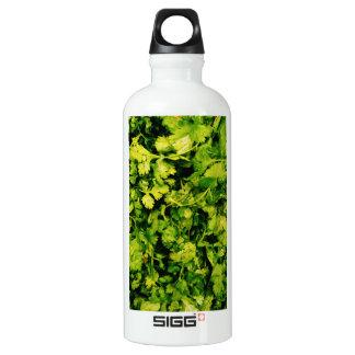 Cilantro-/Koriander-Blätter Wasserflasche