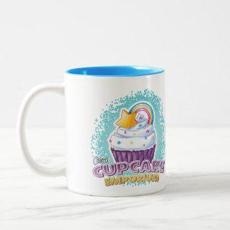 Cilitras Kuchen-Handelszentrum-Tasse Zweifarbige Tasse