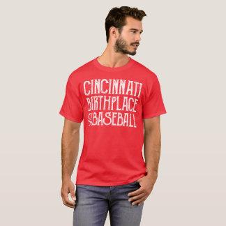 Cincinnati: Geburtsort des Baseballs T-Shirt