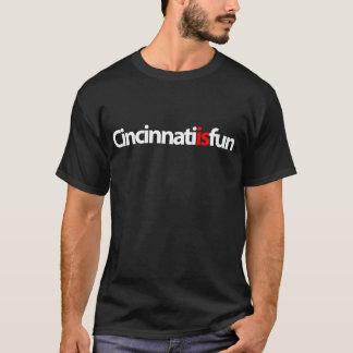 Cincinnati ist Spaß-T - Shirt