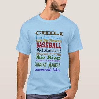 Cincinnati-Material T-Shirt
