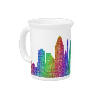 Cincinnati-Skyline Getränke Pitcher