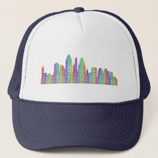 Cincinnati-Stadt-Skyline Truckerkappe