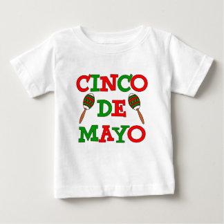 Cinco De Mayo buntes Maracas Baby T-shirt