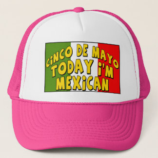 Cinco De Mayo heute bin ich mexikanische Shirts Truckerkappe
