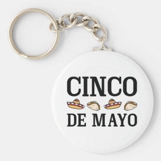 Cinco De Mayo Schlüsselanhänger