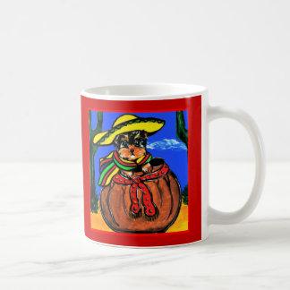 Cinco De Mayo Yorkie Poo Kaffeetasse