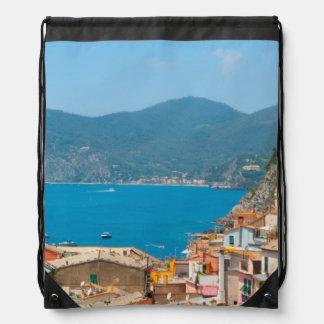 Cinque Terre im italienischen Riviera Turnbeutel