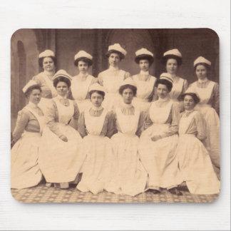 circa Krankenpflegeschulabsolvent 1914 Mauspads