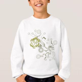 circuitboard Flussdiagramm Sweatshirt
