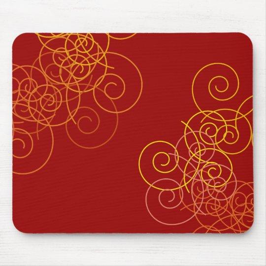 Circular pattern Mousepad