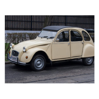 Citroën 2 Lebenslauf Postkarte