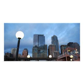CityscapeEvening041609 Foto Karten