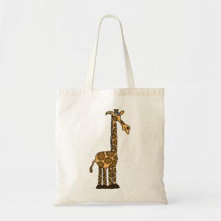CJ-, Funky Giraffen-Taschentasche Budget Stoffbeutel