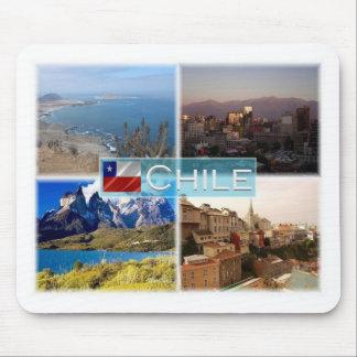 CL Chile - Atacama Wüste - Santiago - Anden Mousepad