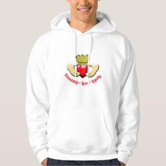 Claddagh Iren-Symbol Hoodie